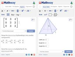 Mathway solves problems in Basic Math  Pre Algebra  Algebra  Trigonometry  Precalculus  Calculus  Statistics  Finite Math  Linear Algebra  and Chemistry  Educational Technology and Mobile Learning