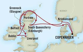 Liverpool Ny Map Scientific American Travel British Isles Cruise