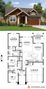 Small Cottage Floor Plans by Best 25 Small House Plans Ideas On Pinterest Small House Floor