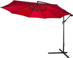 Offset Patio Umbrella by Acrylic Cantilever Offset 10ft Patio Umbrella By Trademark