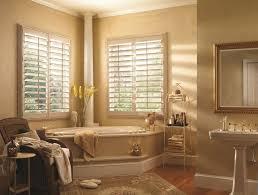 bathroom silhouette bathroom window treatments over tub with