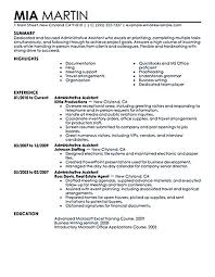 Administrative Secretary Resume Sample by Cat Wong Catwong1 On Pinterest