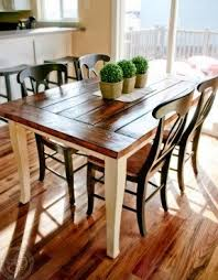 Farmhouse Style Table And Chairs Foter - Farmhouse kitchen tables