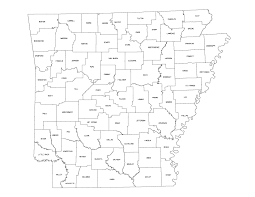 Blank State Map Of Usa arkansas highway map highway map of arkansas arkansas hwy map