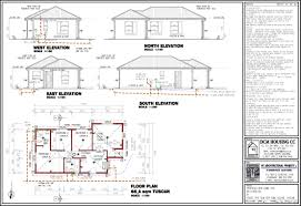 Small 3 Bedroom House Floor Plans by 3 Bedroom Double Storey House Plans South Africa