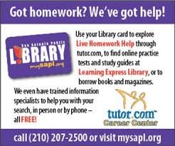 Homework Help Needed  Check This Out   JBlog Judson ISD Getting help from your student     s teacher is always best when it     s available  but Tutor com is a great backup  It     s from the San Antonio Library and it is