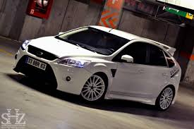 Ford Focus Colours Ford Focus St Mk2 Facelift White Color Front Bumper From Focus