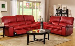 leather recliner sofa red color furniture pinterest recliner