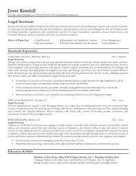 Secretary Job Description For Resume by Legal Resumes Legal Secretary Resume Sample Law Pinterest