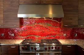 bathroom interesting red backsplash burnt tiles kitchen for