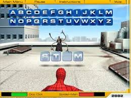 Friv Spiderman Web Of Words