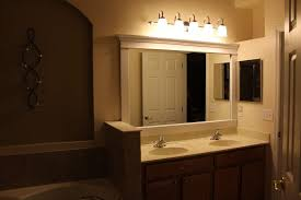 Bathroom Mirror With Lights Built In by Bathroom Superb Bathroom Mirror With Backlit Lights And Floating