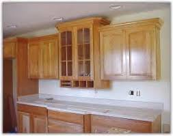 Kitchen Cabinet Base Trim How To Replace Kitchen Cabinet Base Molding 5 Steps Ehow