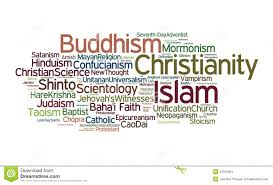 Religions Of The World Map by World Religions Stock Images Image 23163664