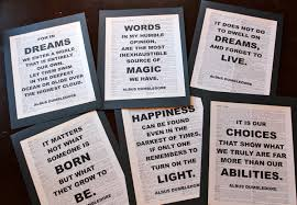 harry potter halloween party dumbledore harry potter dictionary print quote pages the wise
