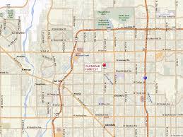 Map Az Map Of Glendale Arizona Vacations Travel Map Holiday