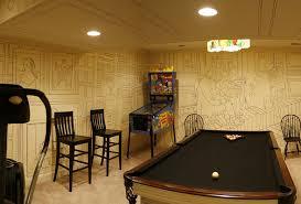decorating basement family room