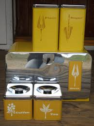 Vintage Kitchen Canister Set Vintage Pantry Queen Bread Box Canister Set 5 Pc 1950 U0027s Retro