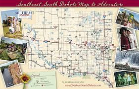 Southeast Map South East South Dakota Camping U0026 Campgrounds In South Dakota