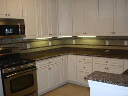 Glass Kitchen Tile Backsplash Ideas Kitchen Brown Glass Mosaic Tile Kitchen Backsplashes With White