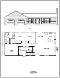 plain 4 bedroom ranch house plans decoration hampshire 30 raised w