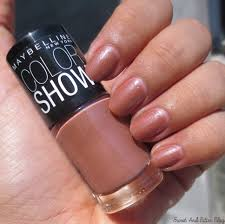 maybelline color show nail polish in india swatches 15 and more