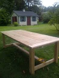 Building Outdoor Wood Furniture by How To Make Your Own Farmhouse Table Farmhouse Table Base