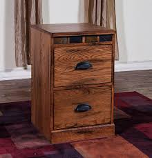 2 Drawer Oak Wood File Cabinet by Amazon Com Sunny Designs 2863ro F3 Sedona 3 Drawers File Cabinet