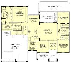 craftsman style house plan 3 beds 2 00 baths 2073 sq ft plan