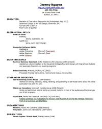 Best Job Resume by How To Create The Best Resume Resume For Your Job Application