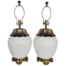 Asian Style Table Lamps 1950 Continental Art Inc Mid Century Table Lamp Asian Man And
