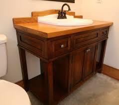 Painting Bathroom by Painting Dark Wood Bathroom Cabinets Diy Painted Bathroom