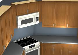 Ikea Kitchen Corner Cabinet by Common Kitchen Design Mistakes Corner Stove And Microwave Alignment