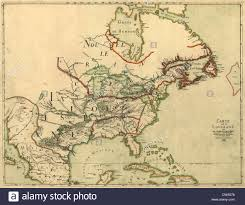 Map Of South Of France by Map Of North America Showing The Colonies Of France Spain And