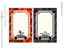 Halloween Free Printable Invitations Venom And Potions Free Halloween Party Printables Catch My Party