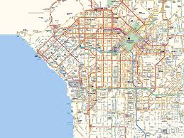 Los Angeles County Map by Los Angeles Map Travel Map Vacations Travelsfinders Com