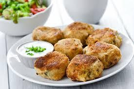 easy mashed potato and ham patties recipe