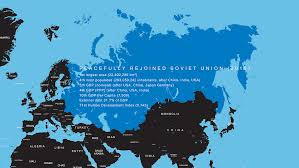 Former Soviet Union Map If Ussr Was Reunited In 2015 Oc 1500x844 Mapporn