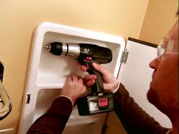 Bathroom Vanity Door Replacement by Replacing A Medicine Cabinet How Tos Diy