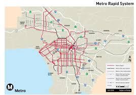 Los Angeles Light Rail Map by Chicago Transit Vs Los Angeles Transit Cta Concerns