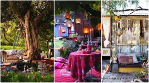 34 colorful bohemian garden designs to embrace homesthetics