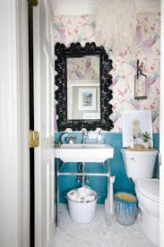 Small Powder Room Wallpaper Ideas Small Powder Room Makeover The Chronicles Of Home