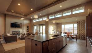 fine open kitchen living room floor plan paint ideas for and