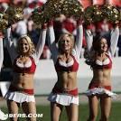 49ers cheerleader amber wright