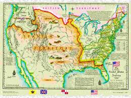 Large Map Of Usa by Us Historical Series