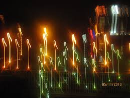 Diwali Decoration In Home Panoramio Photo Of Digitally Shaken Candle And Decorative Lights