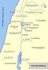 Jordan Country Map Decapolis Wikipedia