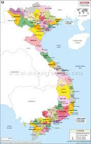 Map Of China Provinces Political Map Of Vietnam Vietnam Provinces Map