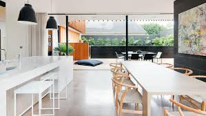 Best Lighting For Kitchen Island by Best Open Plan Kitchen Lighting Ideas With Nice Long Kitchen
