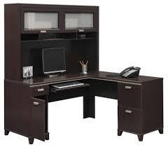 Computer Desks Black by Black L Shaped Computer Desk With Hutch Trends L Shaped Computer